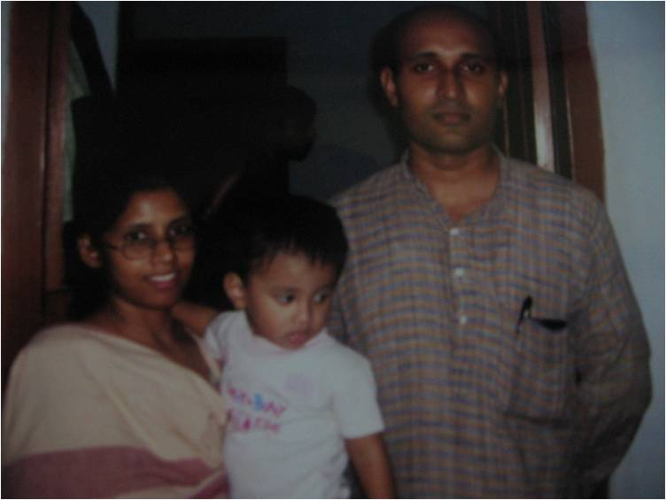Rev Jerish Varghese & Family