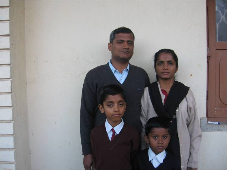 Rev K.G. Mathew & Family